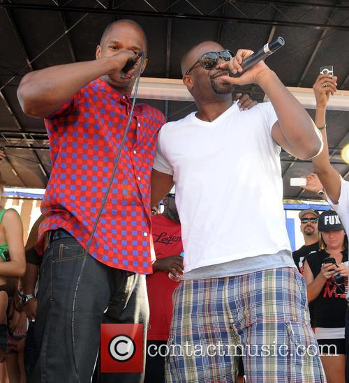 Jamie Foxx and Dj Irie 10