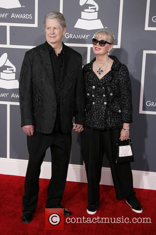 Brian Wilson, Melinda Wilson, Staples Center, Grammy Awards