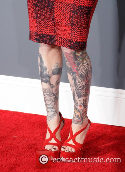 Kat Von D, Staples Center, Grammy Awards