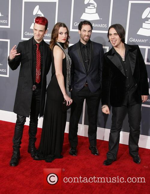 Halestorm, Lzzy Hale, Josh Smith, Arejay Hale and Joe Hottinge 11