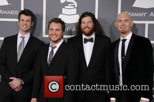 Chris Thompson, Mike Eli, James Young and Jon Jones Of Eli Young Band 2