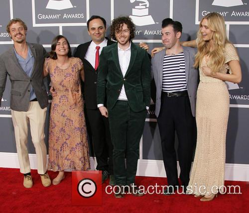 Edward Sharpe And The Magnetic Zeros, Orpheo Mccord, Jade Castrinos, Alex Ebert and Nora Kirkpatrick