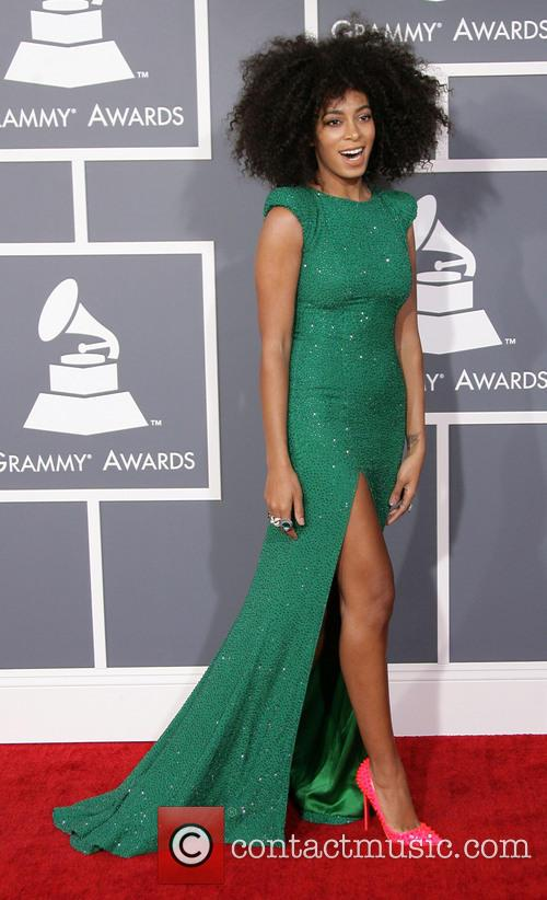 solange knowles 55th annual grammy awards held at 3496170