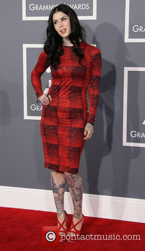 Kat Von D, Staples Center, Grammy Awards