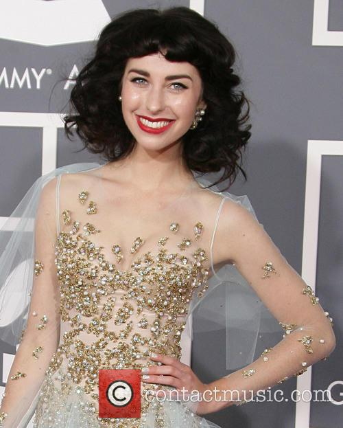 Kimbra, Staples Center, Grammy Awards