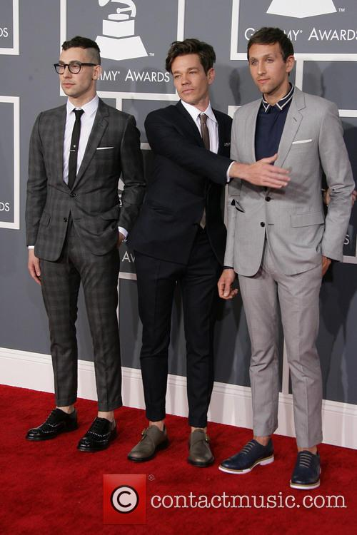 Jack Antonoff, Nate Ruess and And Andrew Dost Of Fun. 2