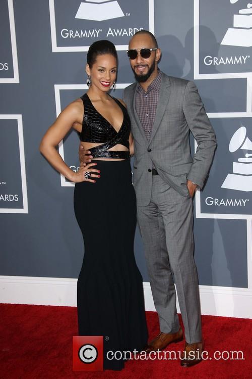 Alicia Keys, Swizz Beatz, Grammy Awards, Staples Center