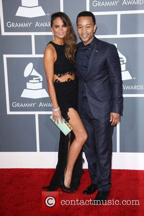 john legend chrissie teigen 55th annual grammy awards at 3498654
