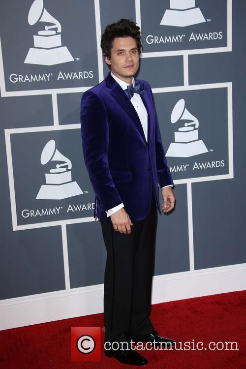 John Mayer at the Grammys