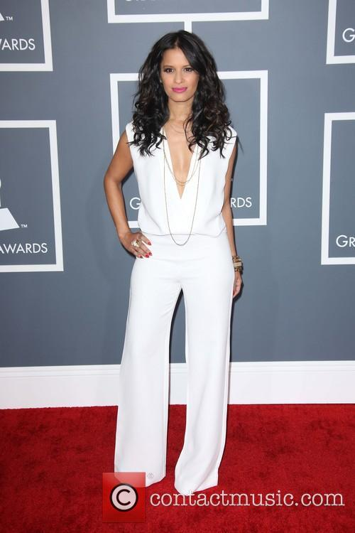 rocsi diaz 55th annual grammy awards at staples 3498630