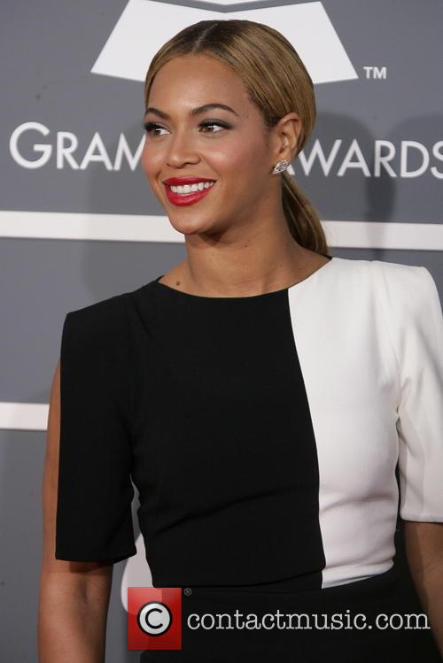Beyonce Knowles at the 55th Annual GRAMMY Awards, Los Angeles