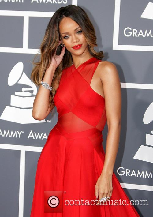 Rihanna, Staples Center, Grammy Awards