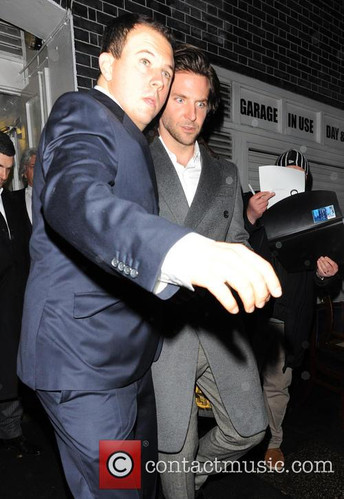 bradley cooper pre bafta dinner at annabels 3493041