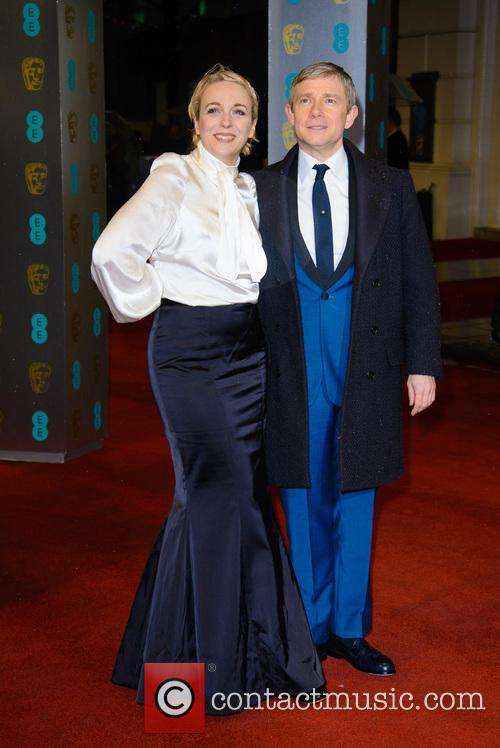 Amanda Abbington and Martin Freeman 1