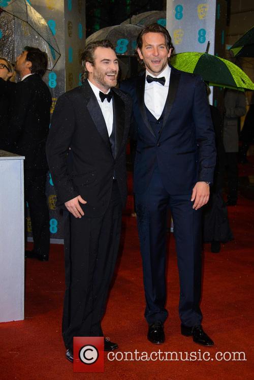 Joaquin Pheonix and Bradley Cooper 2