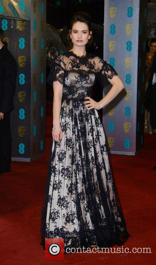 lily james bafta arrivals 3498331