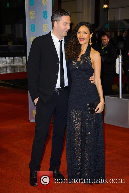 Ol Parker and Thandie Newton 1