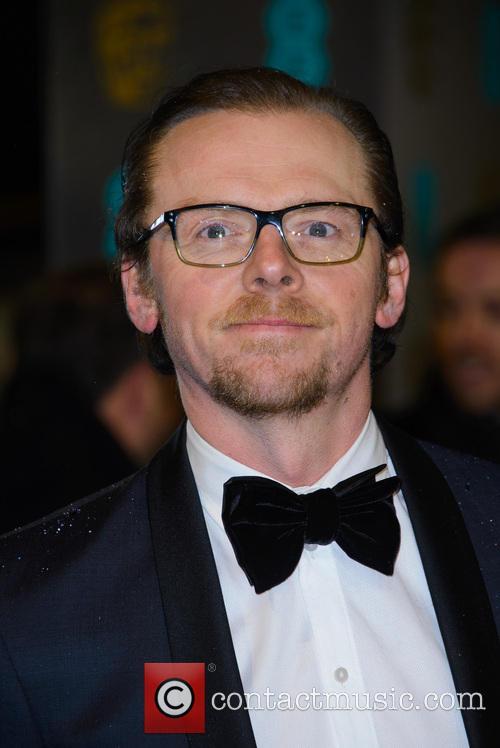 Simon Pegg, British Academy Film Awards