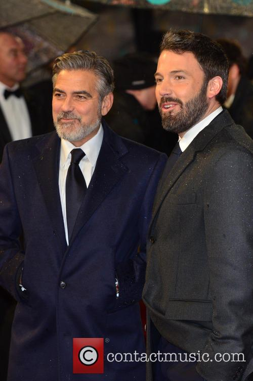 George Clooney and Ben Affleck 2