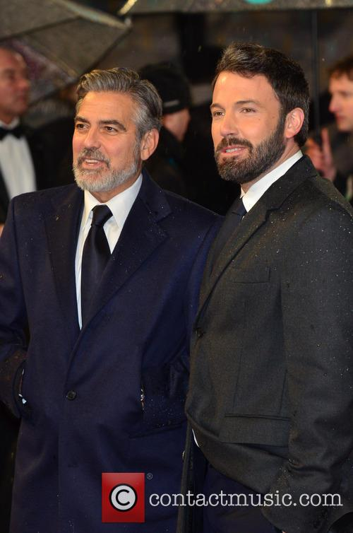 George Clooney and Ben Affleck 4