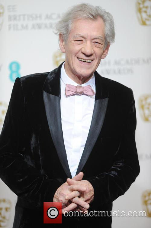 Sir Ian McKellen, BAFTA Press Room