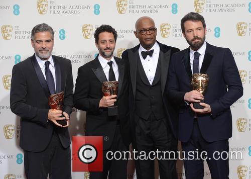 George Clooney, Grant Heslov, Samuel L. Jackson and Ben Affleck 6