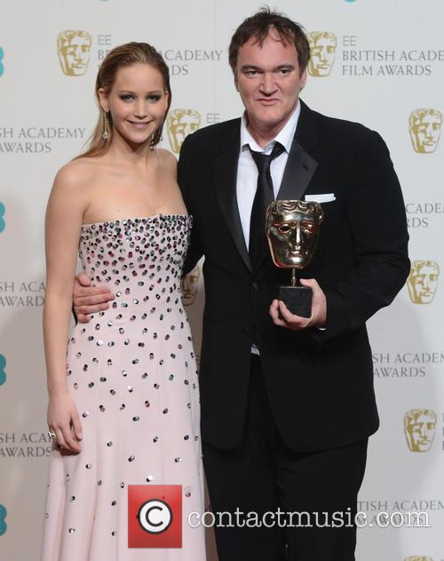 Jennifer Lawrence and Quentin Tarantino 2