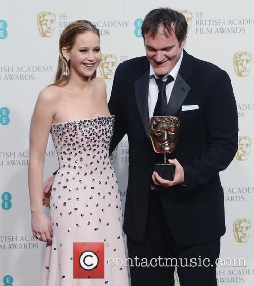 Jennifer Lawrence and Quentin Tarantino 7