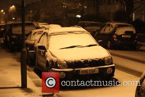 Snowfall and Northwest London 9