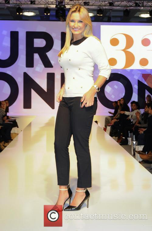 sam faiers pure london 2013 at olympia 3494086