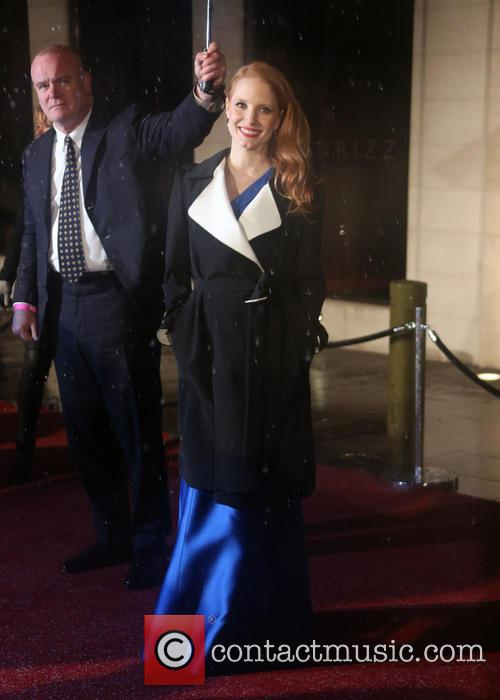 jessica chastain bafta afterparty 3495071