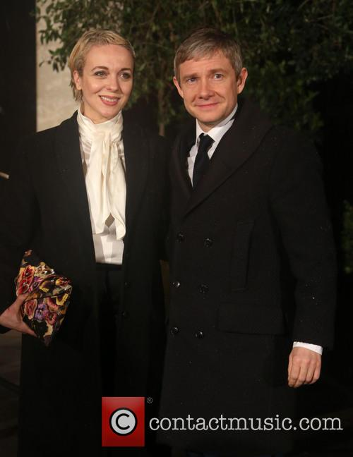 Martin Freeman and Amanda Abbington 3