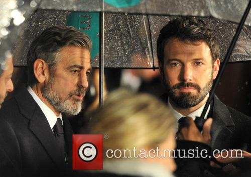 George Clooney and Ben Affleck 5
