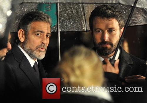 George Clooney and Ben Affleck 7