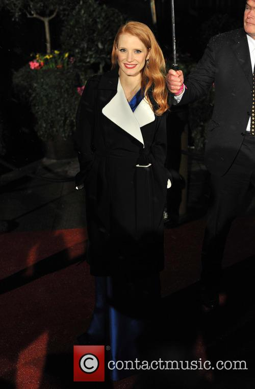 jessica chastain baftas afterparty 3495333
