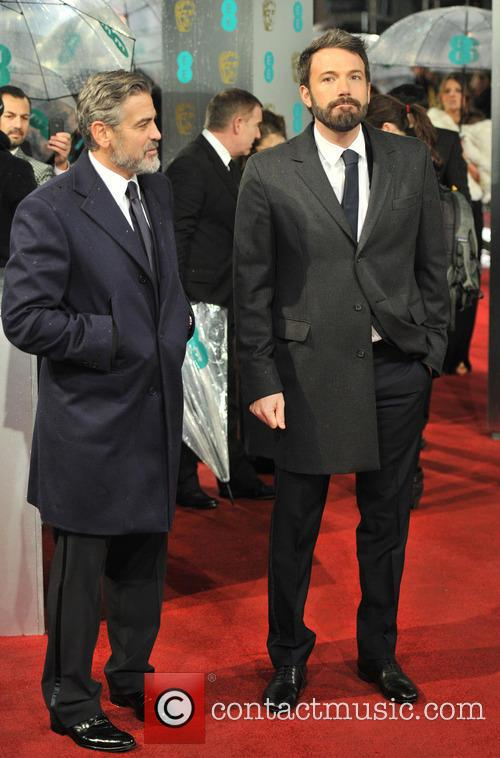 George Clooney and Ben Affleck 9
