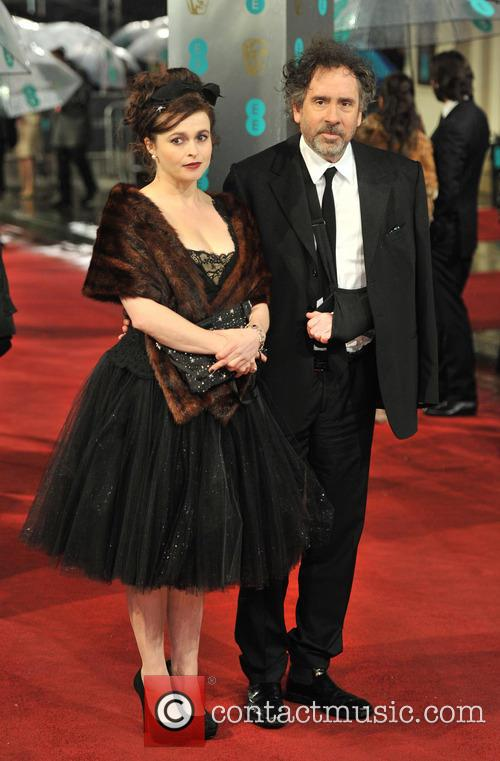 Helena Bonham-carter and Tim Burton 3