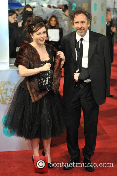 Helena Bonham-carter and Tim Burton 4