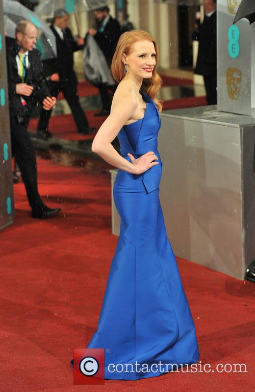 jessica chastain ee bafta arrivals 3497148