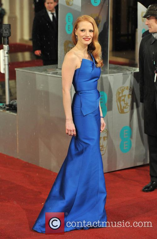 jessica chastain ee bafta arrivals 3497191