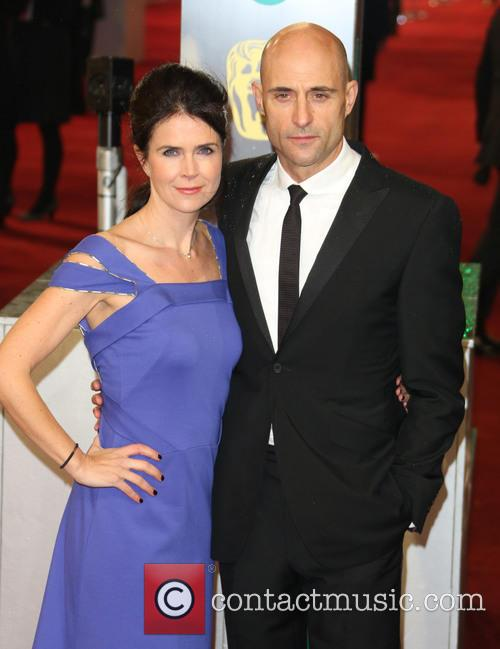 Mark Strong and Wife Liza Marshall 5