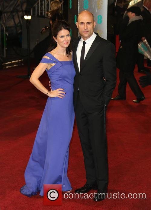 Mark Strong and Wife Liza Marshall 6