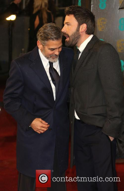 Ben Affleck and George Clooney 3