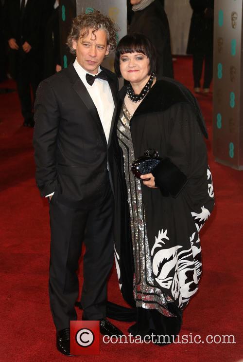 Dexter Fletcher and Wife Dalia Ibelhauptaite 2