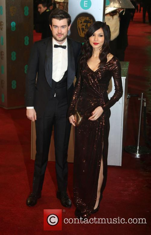 Gemma Chan and Jack Whitehall 2