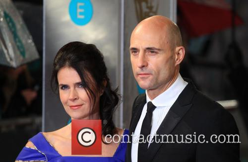 Mark Strong and Wife Liza Marshall 4