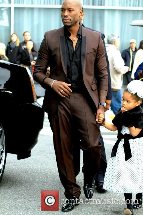 Tyrese Gibson and Daughter Shayla 1