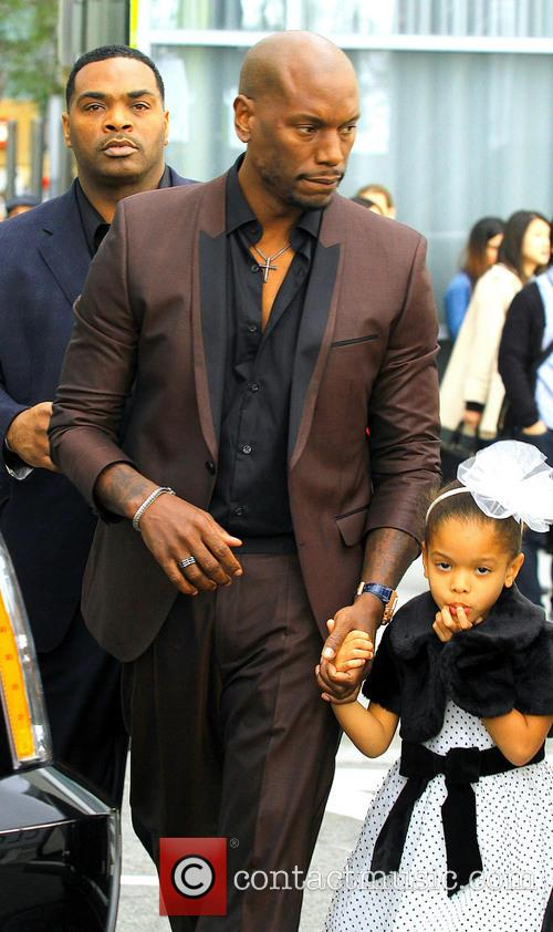 Tyrese Gibson and Daughter Shayla 4