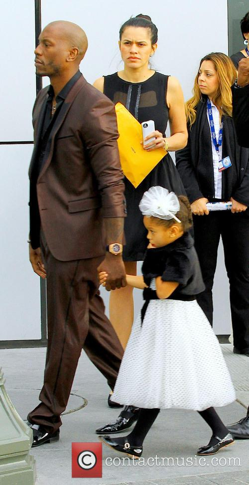 Tyrese Gibson and Daughter Shayla 5