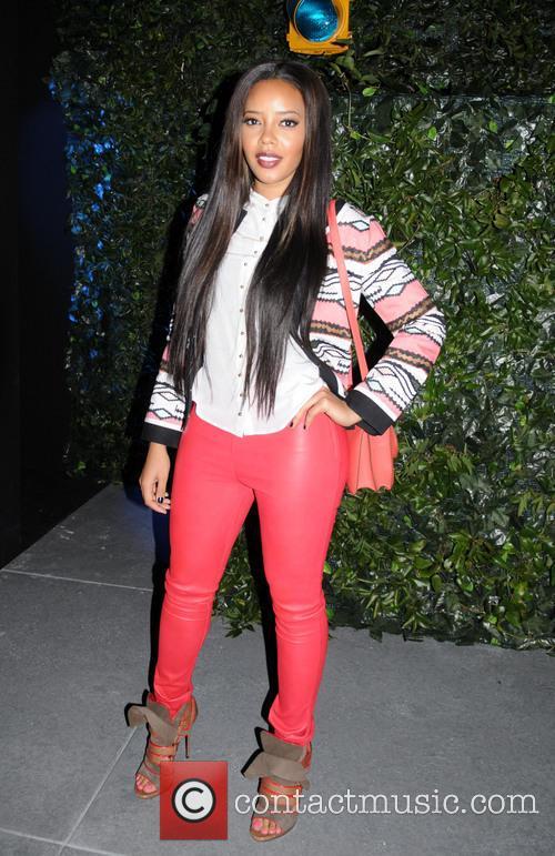 angela simmons new york fashion week tracy reese 3496143